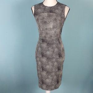 Diane Von Furstenberg fitted bodycon dress size 4